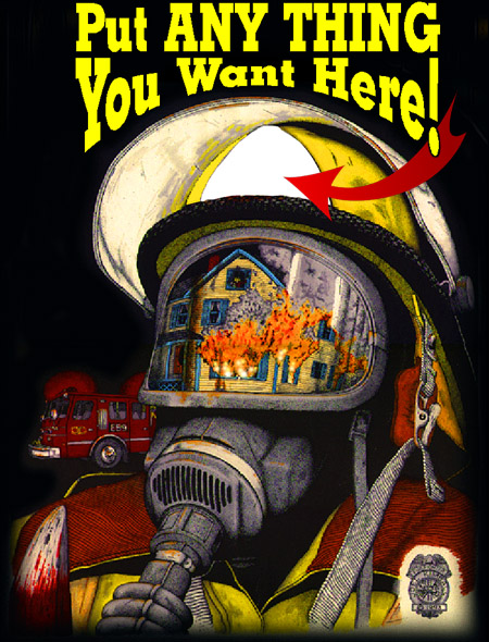 firefighting, firehouse, fire-ems, firefighters, firemen, fire, truck, engine, fireman, rescue, EMS, emergency, EMT, chief, search and rescue, artists, personalized, fine, art, artwork, prints, posters, calendars, t-shirts, t shirts, Christmas, anniversars
